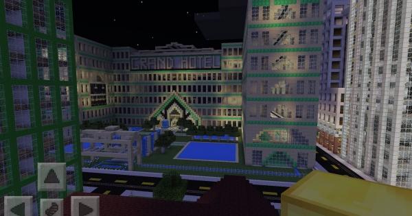Gigantic Awesomesauce DisneyLand City Map Minecraft PE Map - Disneyland map fur minecraft pe