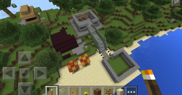 Join and explore a world minecraft pe server minecraft hub for Explore craft survival pe