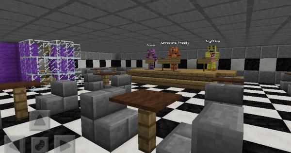 FNAF Roleplay Minecraft PE Server Minecraft Hub