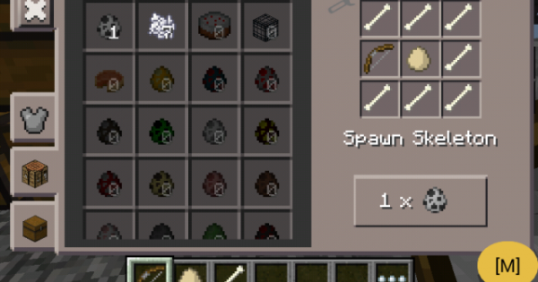 how to get spawn eggs in minecraft pe