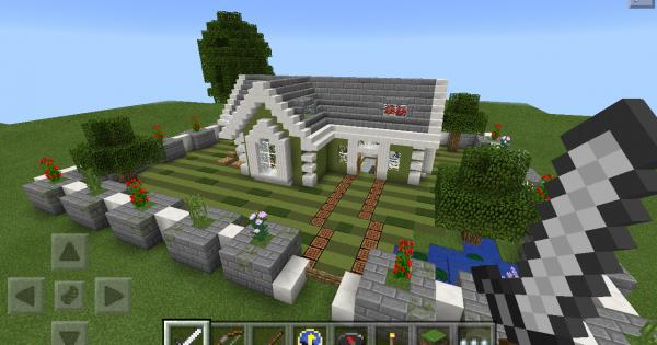 Maison De Luxe Minecraft Pe Map Minecraft Hub