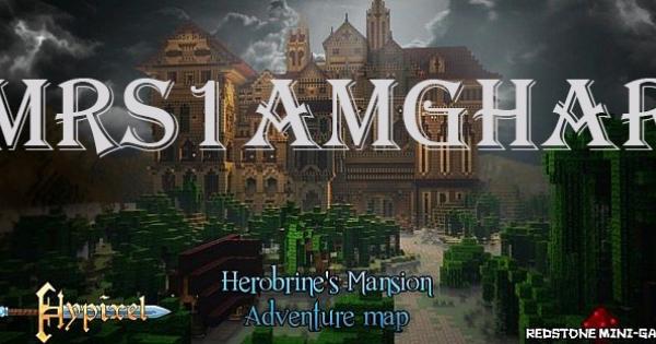 minecraft herobrines mansion map download