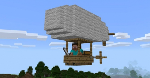 Zeppelin Add-on | Minecraft PE Mod | Minecraft Hub