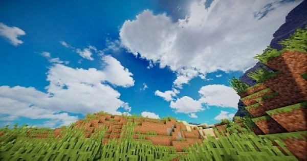 Extremely Realistic Sky Resource Pack Minecraft PE