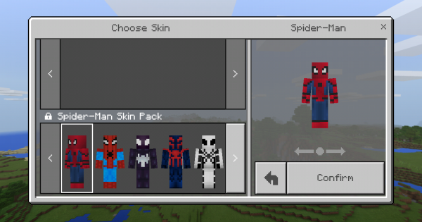 SpiderMan Skin Pack Minecraft PE Mod Minecraft Hub - Skins para minecraft pe de spiderman