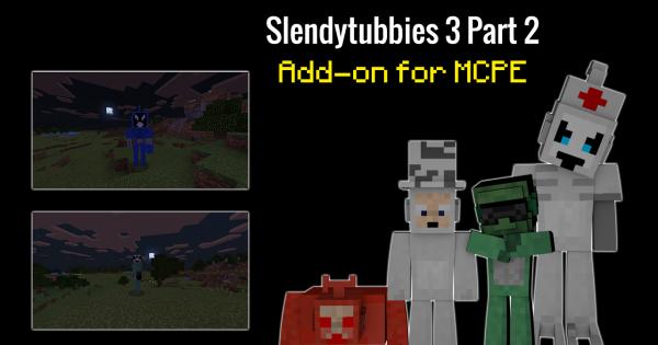 Slendytubbies Part Addon Minecraft PE Mod Minecraft Hub - Descargar skin para minecraft pc gamer demo