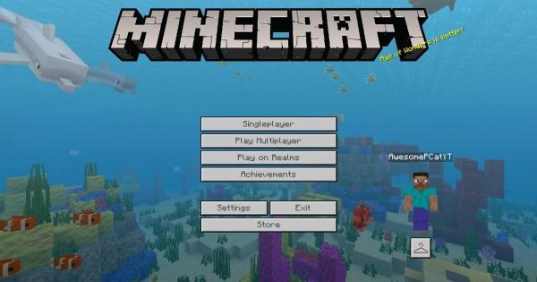 Minecraft Bedrock Edition PC GUI Minecraft PE Texture