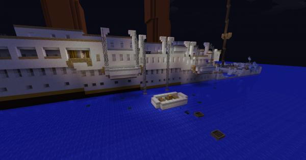 TITANIC SURVIVAL ICEBERG Minecraft PE Map Minecraft Hub