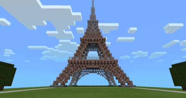 Eiffel Tower Remake by Skeletra (10000  downloads