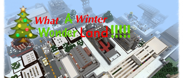 Winterbay City [roleplay][pvp][minigames][parkour][join now!]