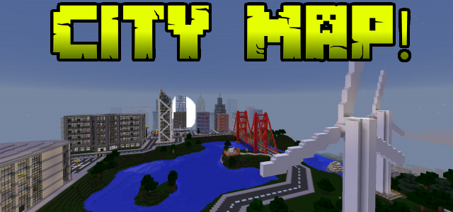 Minecraft pe City Map