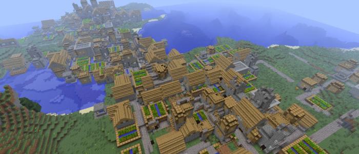 0 9 x] 1388582293: Triple Village - Seeds - Everything MCPE