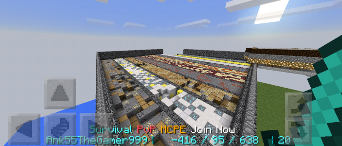 ( UPDATE Notice! ): Survival PVP MCPE Join Now)