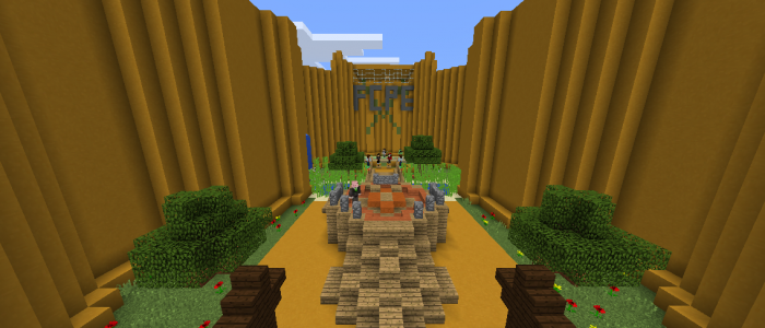Forcecraft pe! Mini games, plots, factions and more!