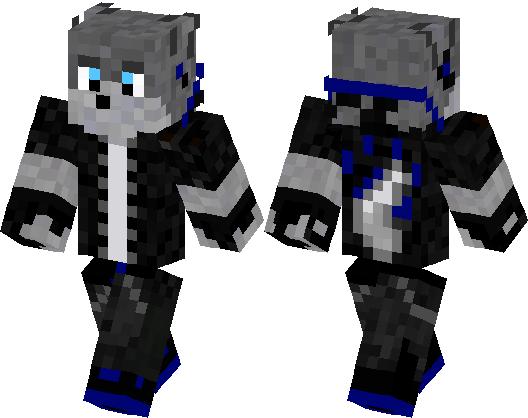 Wolf Boy Minecraft Skin Minecraft Hub - Skins para minecraft pe wolf