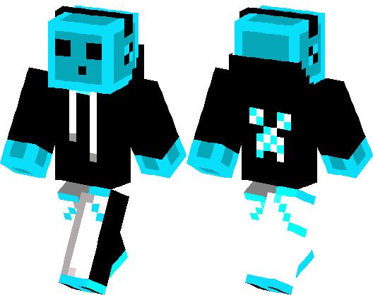 Blue Slime   Minecraft Skin   Minecraft Hub