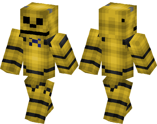 Golden Freddy Minecraft Skin Minecraft Hub - Skins para minecraft pe five nights at freddys