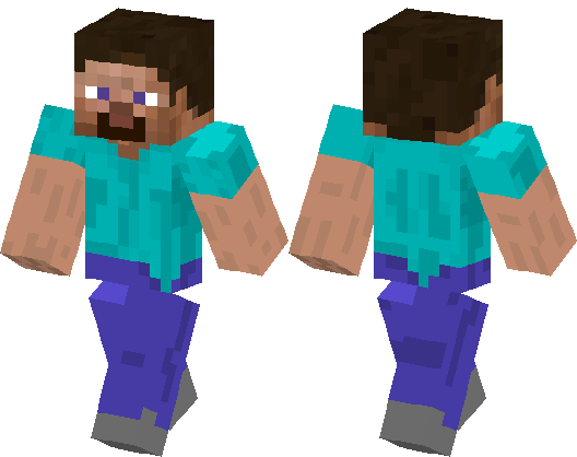 Baby Steve Minecraft Skin, HD Png Download - 640x640 PNG