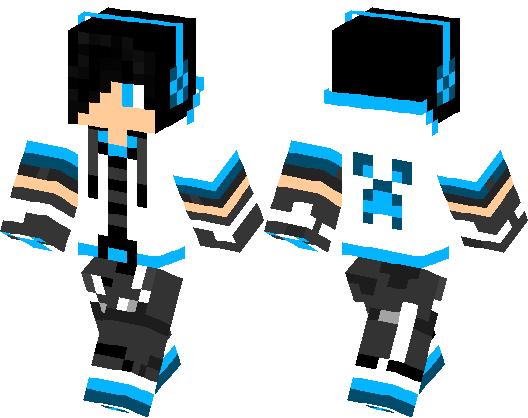 Blue Boy Minecraft Skin Minecraft Hub - Skins para minecraft pe boy