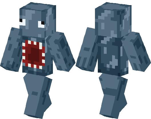 MAN SQUID Skin Minecraft Skin Minecraft Hub - Skins para minecraft pe para hombre