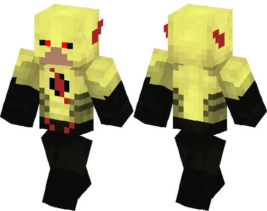 Reverse Flash Minecraft Skin Minecraft Hub