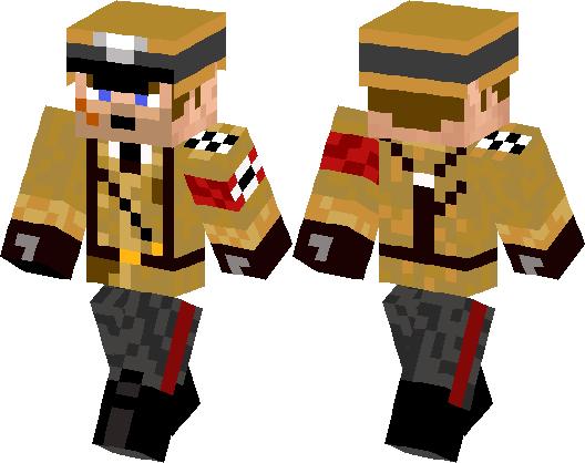 Edward Richtofen Minecraft Skin Minecraft Hub - Skins para minecraft pe hitler