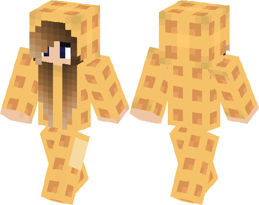 how to make a minecraft girl skin