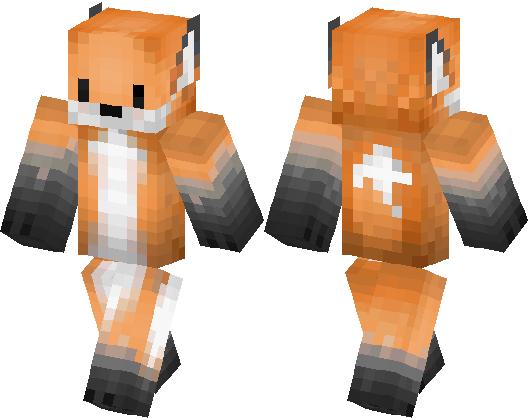 cute fox skin minecraft skin minecraft hub