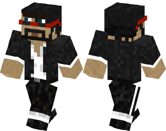 Minecraft Youtuber CaptainSparklez Minecraft Skin Minecraft Hub - Skins para minecraft pe youtubers