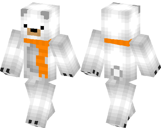 minecraft bear skin