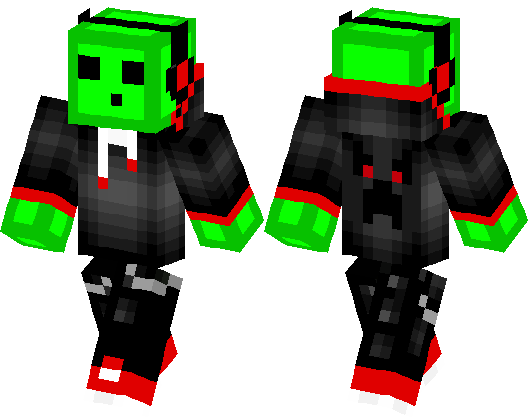 cool slime guy minecraft skin minecraft hub