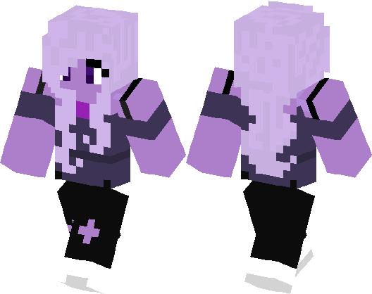 Amethyst From Steven Universe Minecraft Skin Minecraft Hub - Skins para minecraft pe steven universe