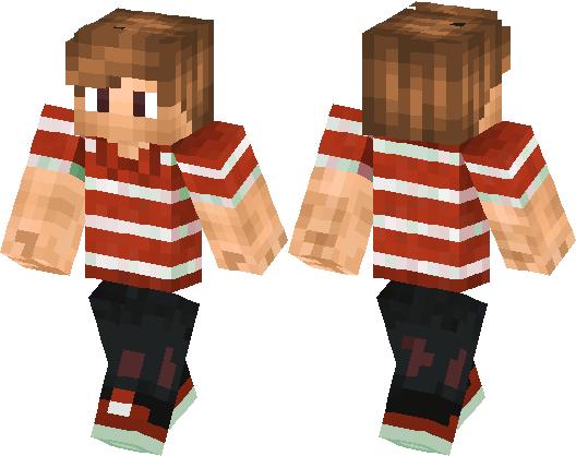 x+Light Brown Hair Guy+x | Minecraft Skin | Minecraft Hub