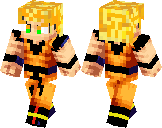SuperSayian Goku Minecraft Skin Minecraft Hub - Skins para minecraft pocket edition de goku