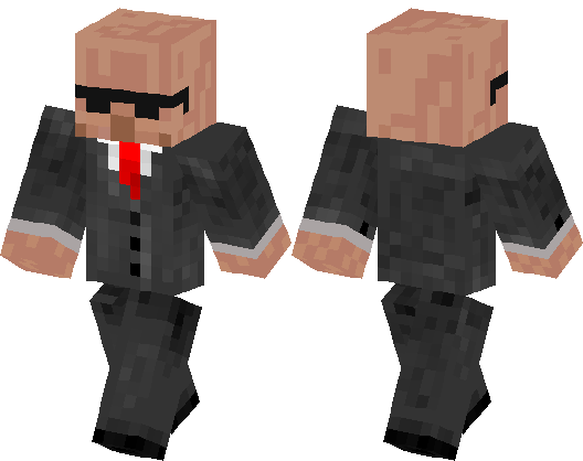 Villager Tuxedo Minecraft Skin Minecraft Hub