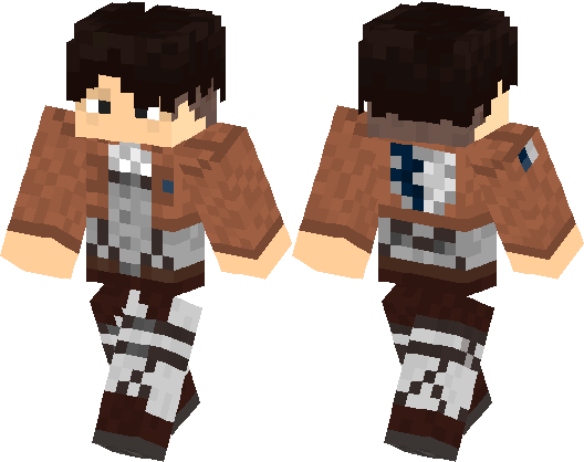 Levi Ackerman Better Than Ever Minecraft Skin Minecraft Hub - Skins para minecraft pe de youtubers