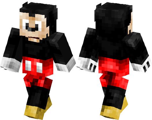Mickey mouse | Minecraft Skin | Minecraft Hub