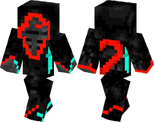 Skeleton Of Redstone Spooky Skins Minecraft Skin