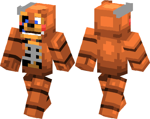 Minecraft Toy Freddy : Old toy freddy fnaf skin minecraft hub