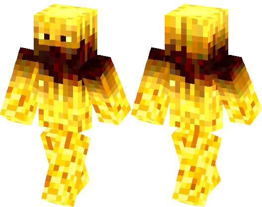 Blaze Monster Series Minecraft Skin Minecraft Hub - Monster skins fur minecraft