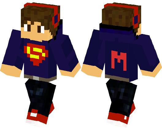 Superman Kid Minecraft Skin Minecraft Hub