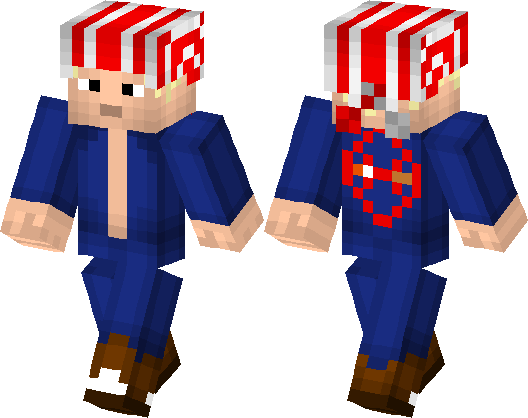 Billy Kane The King Of Fighters Minecraft Skin Minecraft Hub - Skins para minecraft pe king