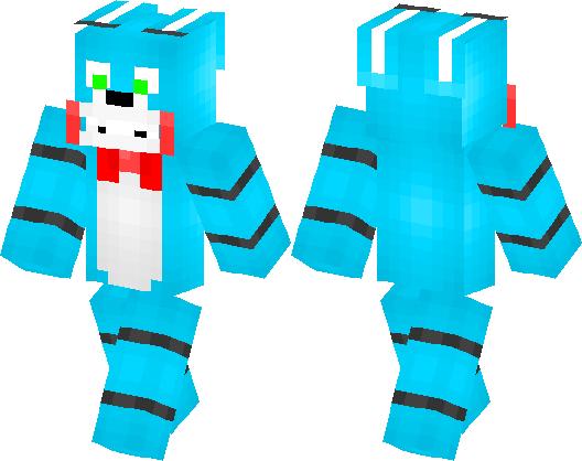Toy Bonnie Minecraft Skin Minecraft Hub - Skins para minecraft pe bonnie