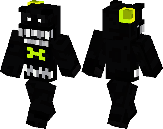 Five Nights At Freddys Nightmare Minecraft Skin Minecraft Hub - Skins para minecraft pe five nights at freddys