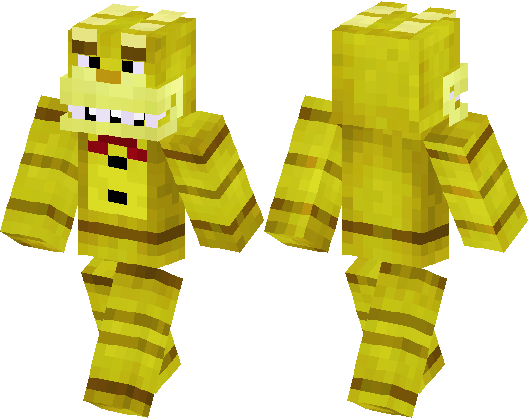 Five Nights At Freddys GoldenSpring Bonnie Minecraft Skin - Skins para minecraft pe five nights at freddys
