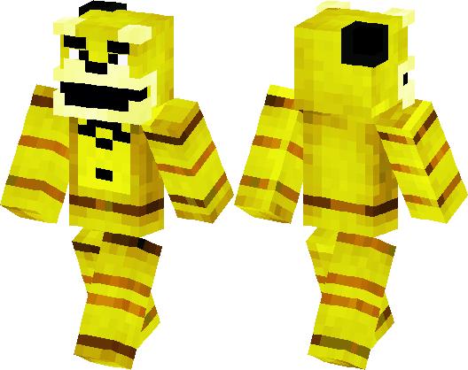 Five Nights at Freddy's | Golden Freddy | Minecraft Skin