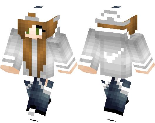 Cute Nike Tomboy By Shrimpo Minecraft Skin Minecraft Hub - Nike skins fur minecraft