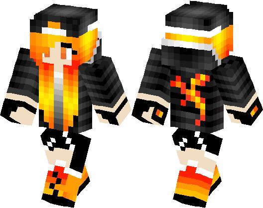 Minecraft Skin Tomboy Girl Nyepi U