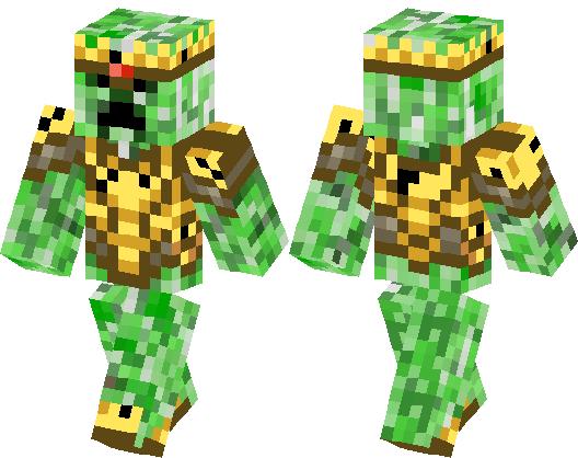 El Rey Crepeer Minecraft Skin Minecraft Hub - Skin para minecraft pe rey