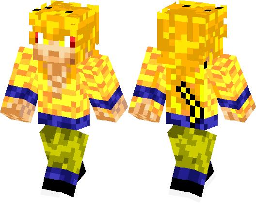 Minecraft Spielen Deutsch Baixar Skin Para Minecraft Pe Goku Bild - Skins para minecraft pe de goku